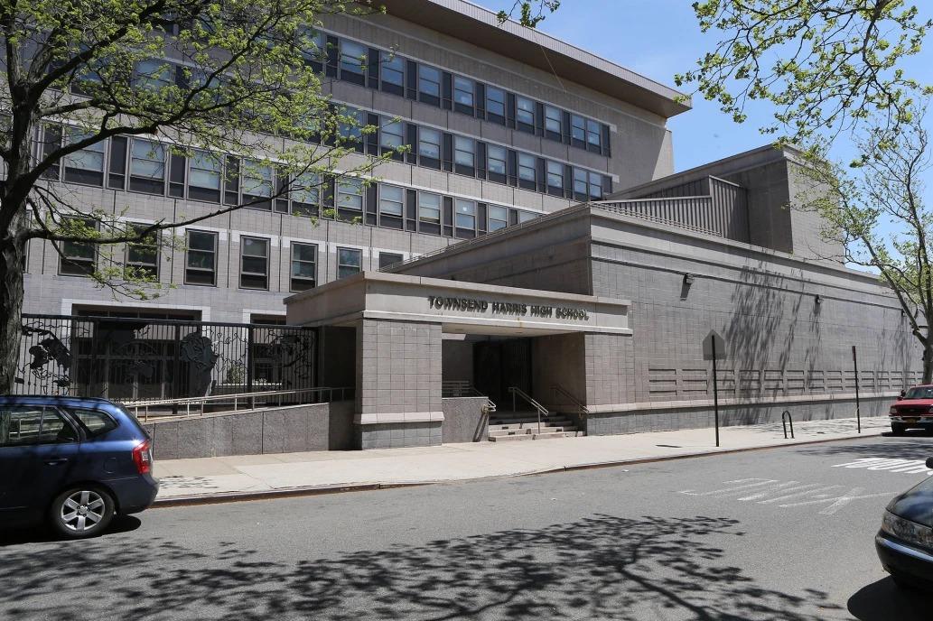 Trường Trung học Townsend Harris, thành phố New York, Mỹ. Ảnh: Ellis Kaplan.