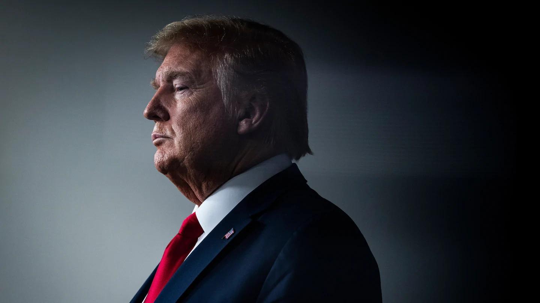 Trump tại Nhà Trắng hồi tháng 4/2020. Ảnh: Washington Post.