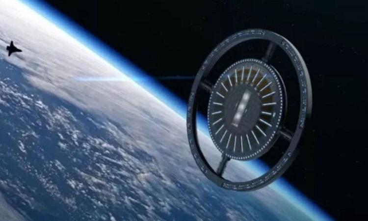 Thiết kế của trạm vũ trụ Voyager. Ảnh: OAC.
