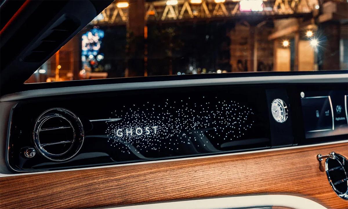 Táp-lô Illuminated Fascia đa màu sắc. Ảnh: Rolls-Royce