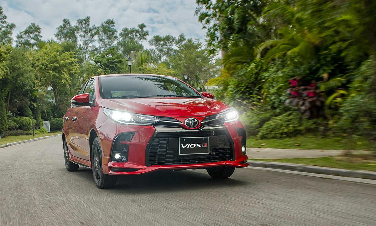 Vios 2021 phiên bản thể thao GR-S mới. Ảnh: Toyota