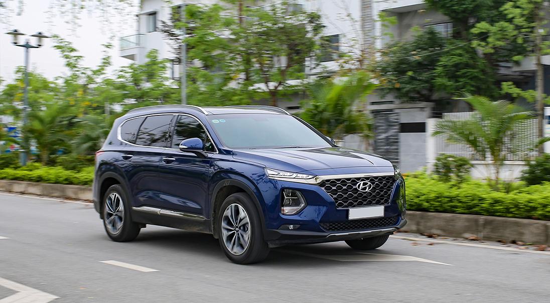 Hyundai SantaFe bản mới. Ảnh: Tuấn Cao