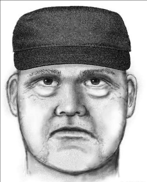 Phác họa chân dung tay súng. Ảnh: Scottsdale Police Department.