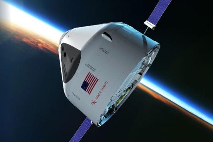 Minh họa trạm vũ trụ ST-42 bay trên quỹ đạo Trái Đất. Ảnh: Space Tango.