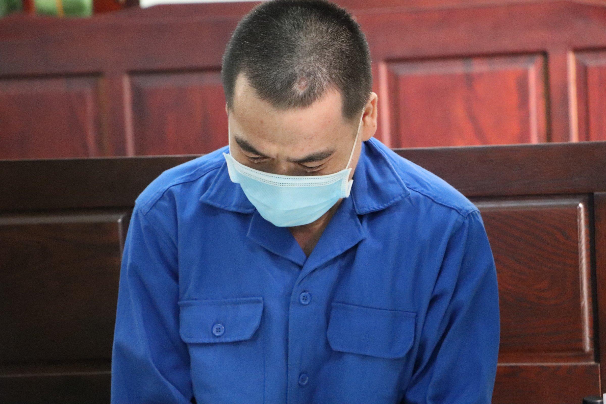 Bị cáo Nguyễn Hoàng Nhật tại tòa sáng 2/3