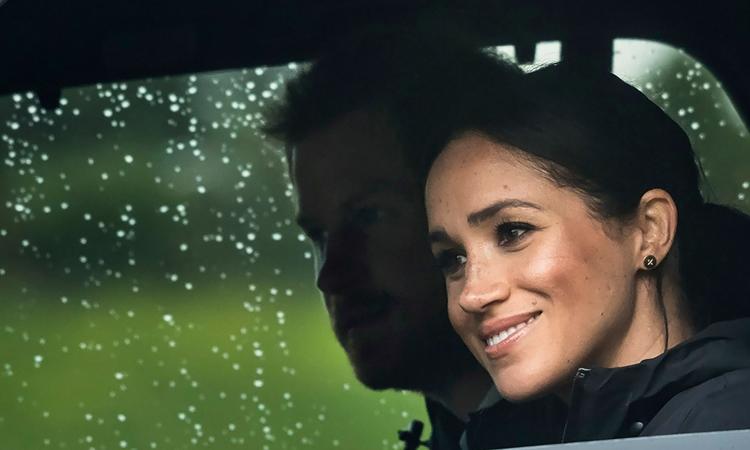 Vợ chồng Harry - Meghan dự một sự kiện ở Auckland hồi tháng 10/2018. Ảnh: AFP.