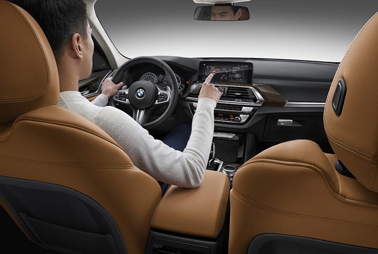 Nội thất BMW X3 2021.