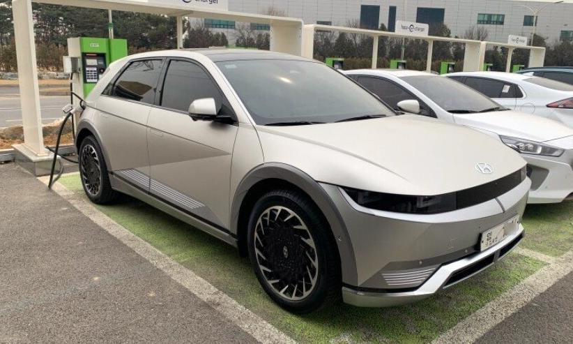 Mẫu xe điện mới của Hyundai. Ảnh: Hyundai