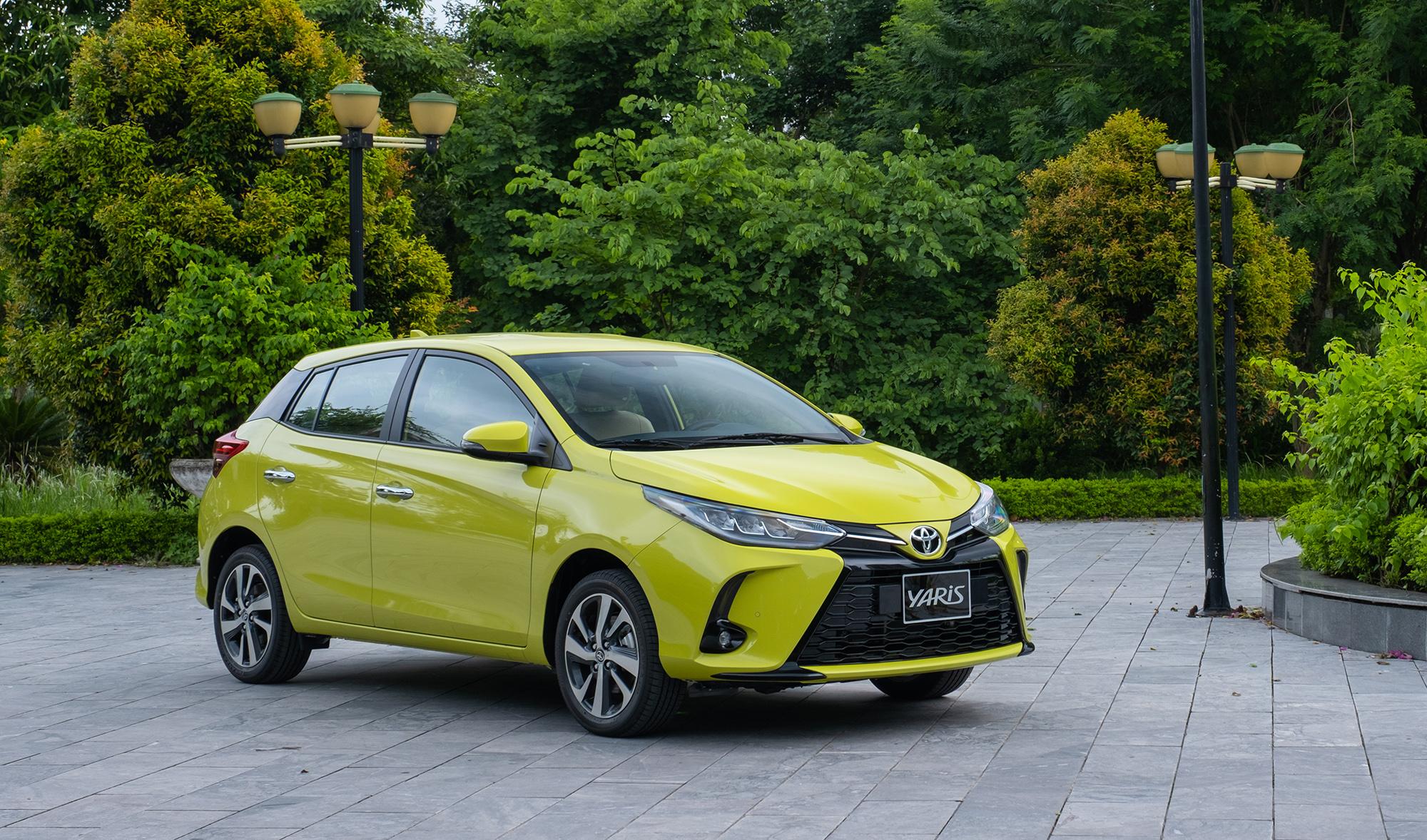 Yaris nhập khẩu Thái Lan về Việt Nam. Ảnh: Toyota