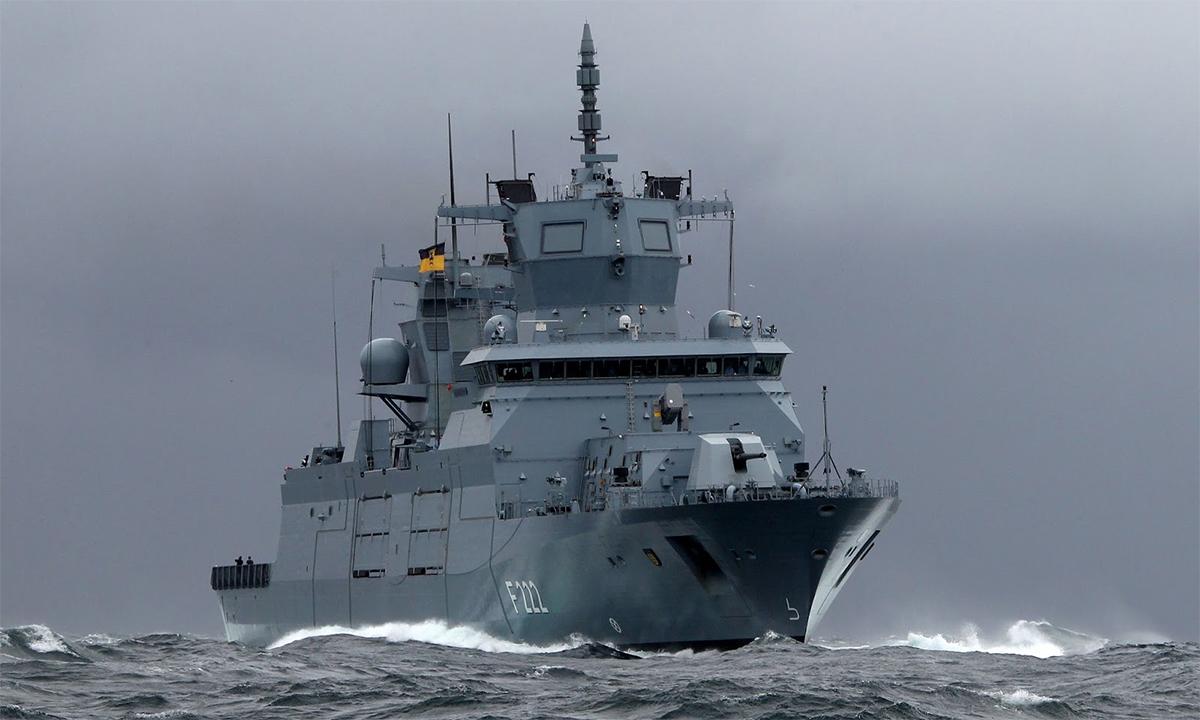 Mỹ hoan nghênh Đức điều chiến hạm tới Biển Đông