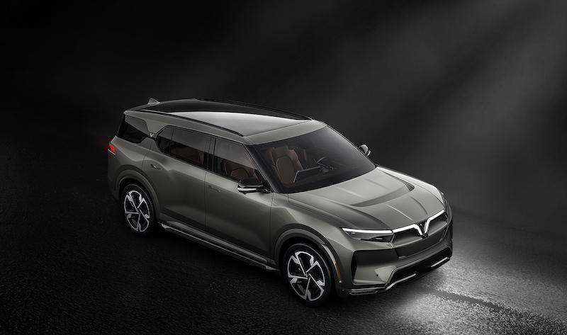 SUV điện VinFast VF33 dự kiến được bán ra tại Mỹ từ quý II/ 2022. Ảnh: VinFast.