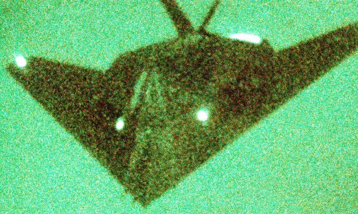 Máy bay F-117A làm nhiệm vụ ban đêm. Ảnh: USAF.