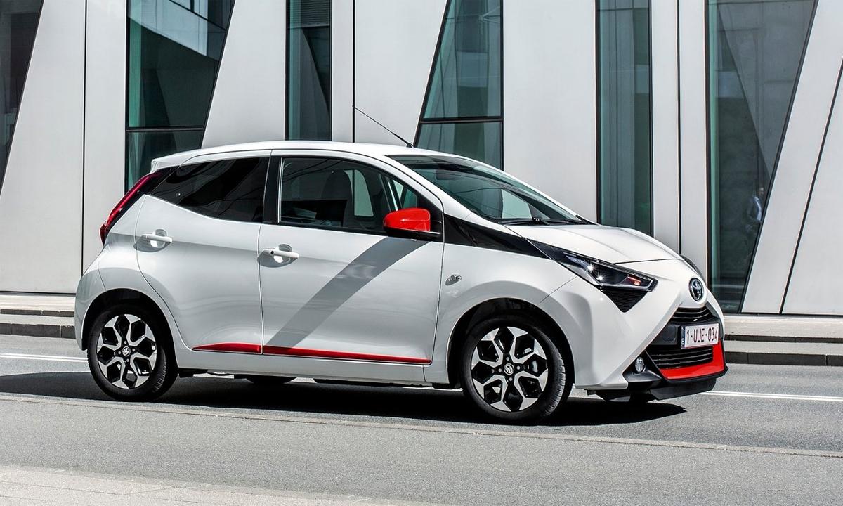 Aygo - mẫu xe cỡ A của Toyota đang bán ở châu Âu. Ảnh: Toyota