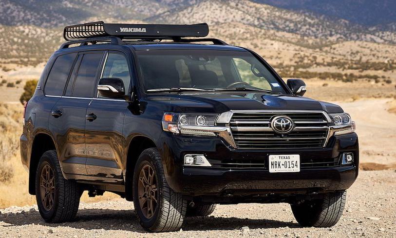 Land Cruiser 2021 tại Mỹ. Ảnh: Toyota