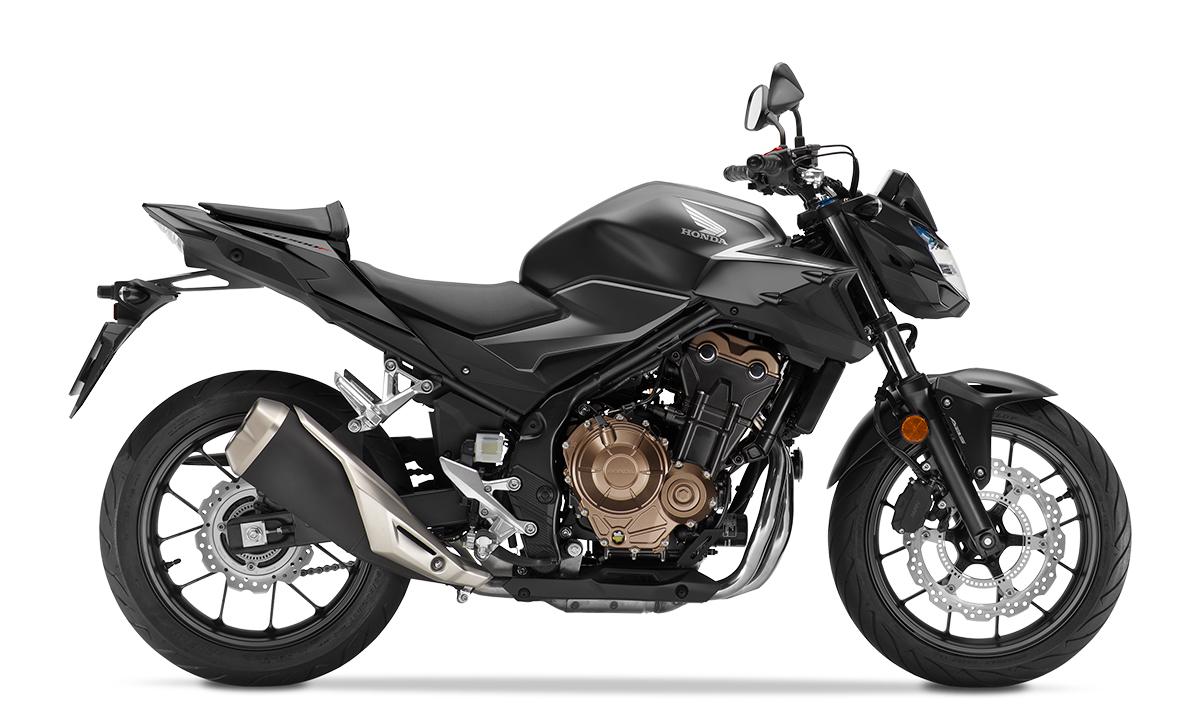 CB500F 2021 màu đen mới. Ảnh: Honda