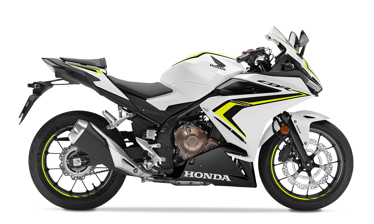 CBR500R 2021 bản màu trắng đen. Ảnh: Honda
