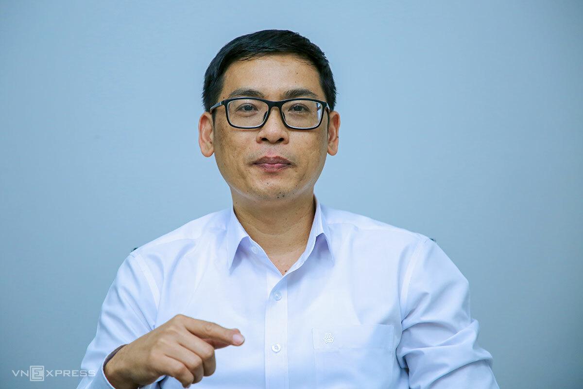 Ông Phùng Phú Phong - Phó giám đốc phụ trách Sở Xây dựng TP Đà Nẵng. Ảnh: Nguyễn Đông.