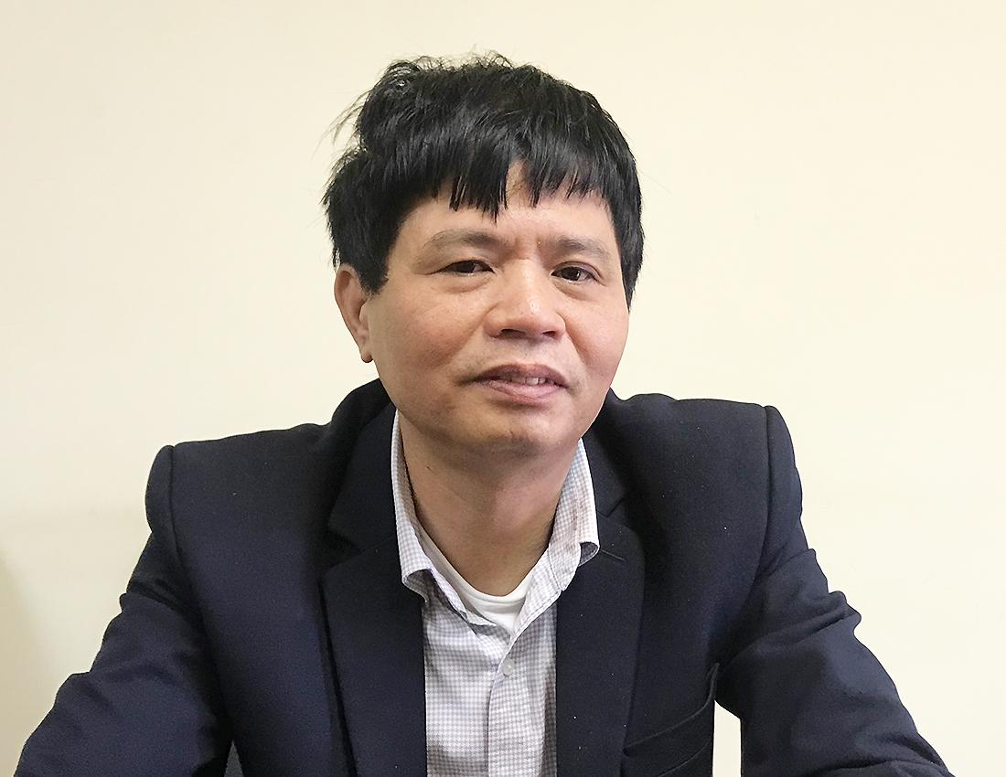 Ông Vũ Ngọc Lăng, Vụ trưởng An toàn Giao thông, Tổng cục Đường bộ Việt Nam. Ảnh: Anh Duy