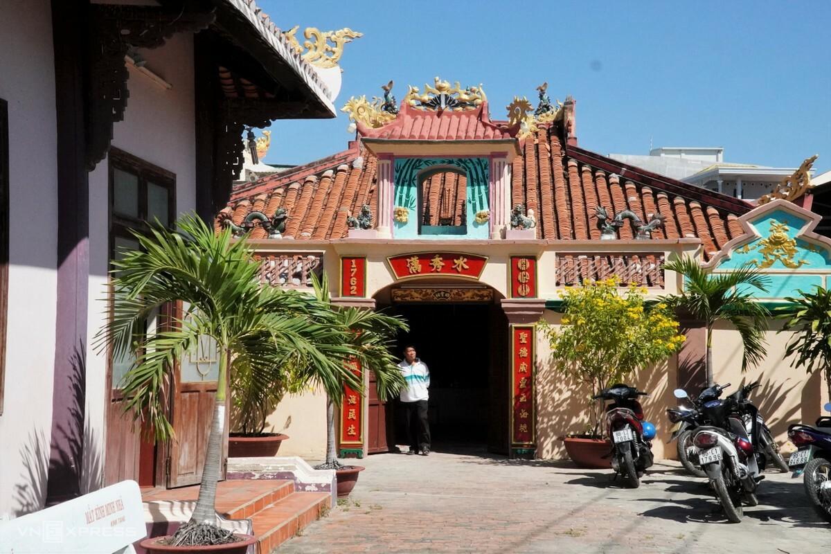 Di tích quốc gia Vạn Thủy Tú đã được xếp hạng di tích quốc gia vào năm 1996. Ảnh: Việt Quốc.
