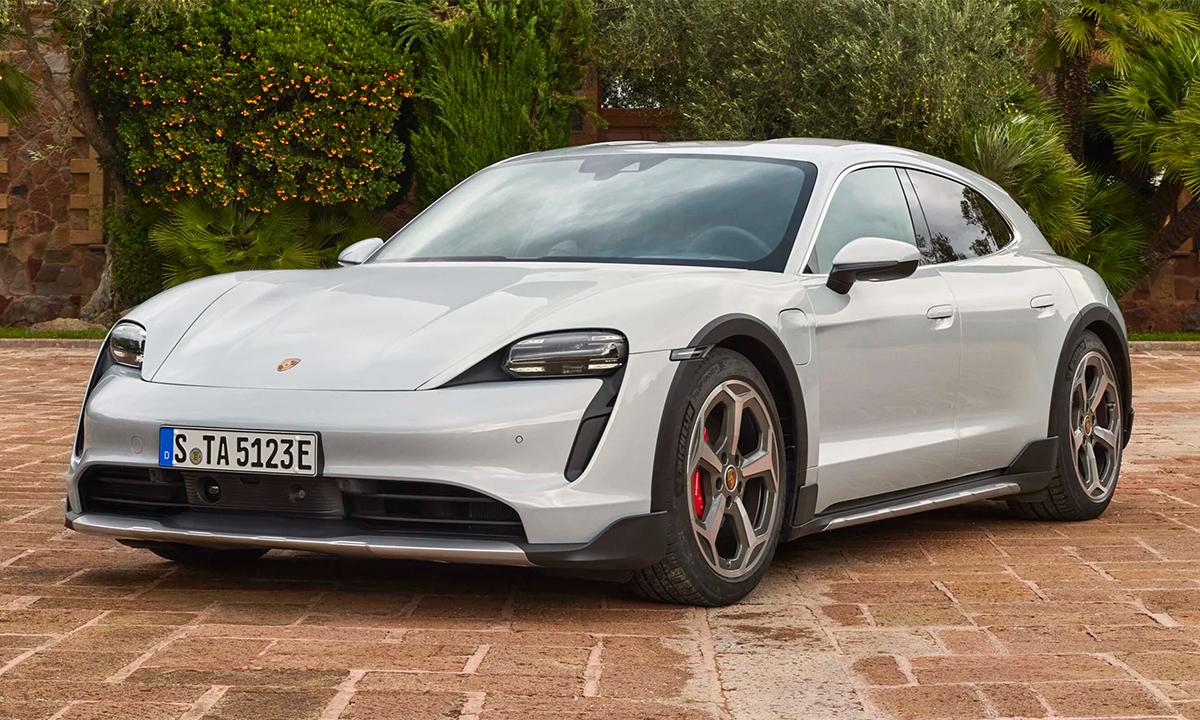 Taycan Cross Turismo phiên bản 4S. Ảnh: Porsche