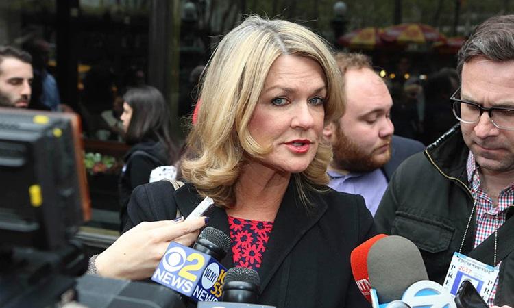 Cựu trợ lý báo chí Karen Hinton. Ảnh: NY Post.