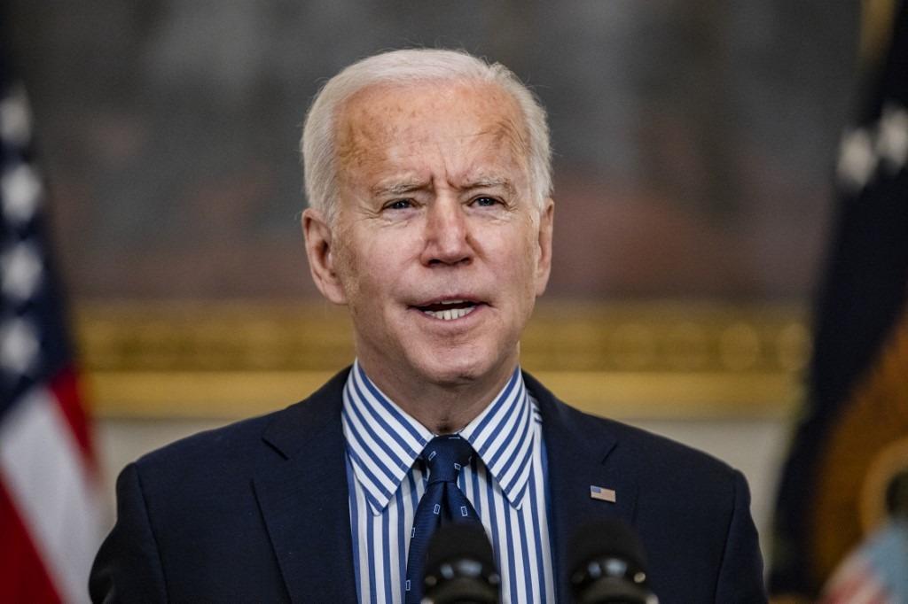 Tổng thống Biden tại Nhà Trắng ngày 6/3. Ảnh: AFP.