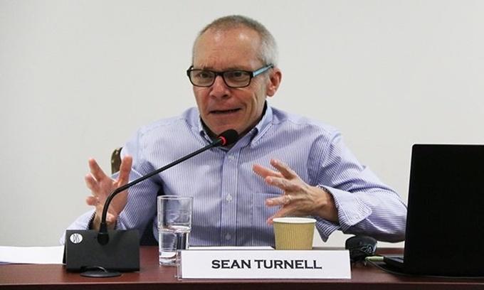 Giáo sư Sean Turnell, cố vấn kinh tế cho bà Suu Kyi. Ảnh: ISEAS-Yusof Ishak Institute.