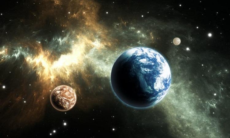 Mô phỏng ngoại hành tinh giống Trái Đất. Ảnh: Coversation.