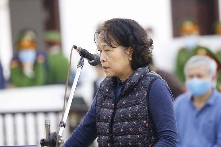 Bà Trần Thị Bình. Ảnh: TTXVN