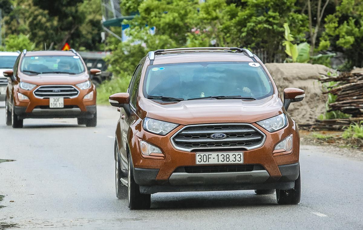 Ford EcoSport 2008. Ảnh: Trần Huy Thắng