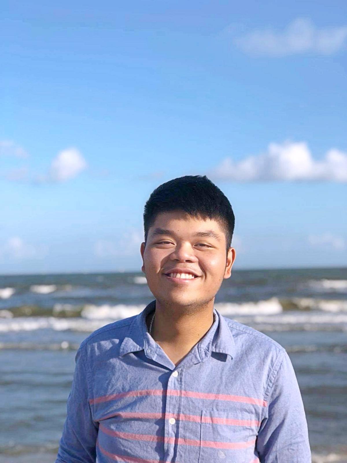 Trương Thời Tiến, người sáng lập Dự án VieTalk. Ảnh: Nhân vật cung cấp