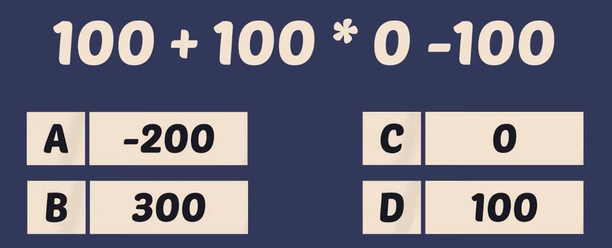 Thử tài tính nhẩm với năm phép toán