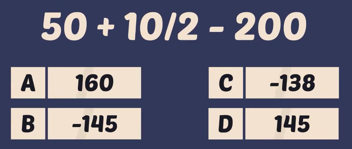 Thử tài tính nhẩm với năm phép toán - 2