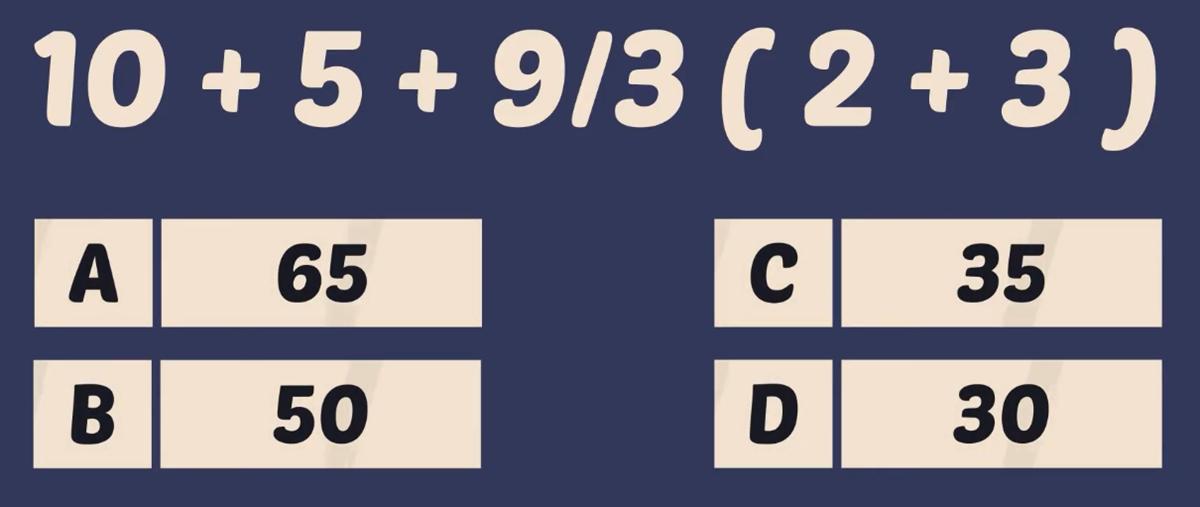 Thử tài tính nhẩm với năm phép toán - 4