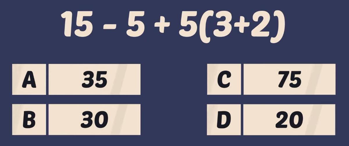 Thử tài tính nhẩm với năm phép toán - 8