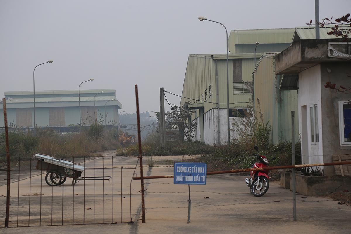 Dự án Ethanol Phú Thọ hiện đang bỏ hoang. Ảnh: Phạm Dự.