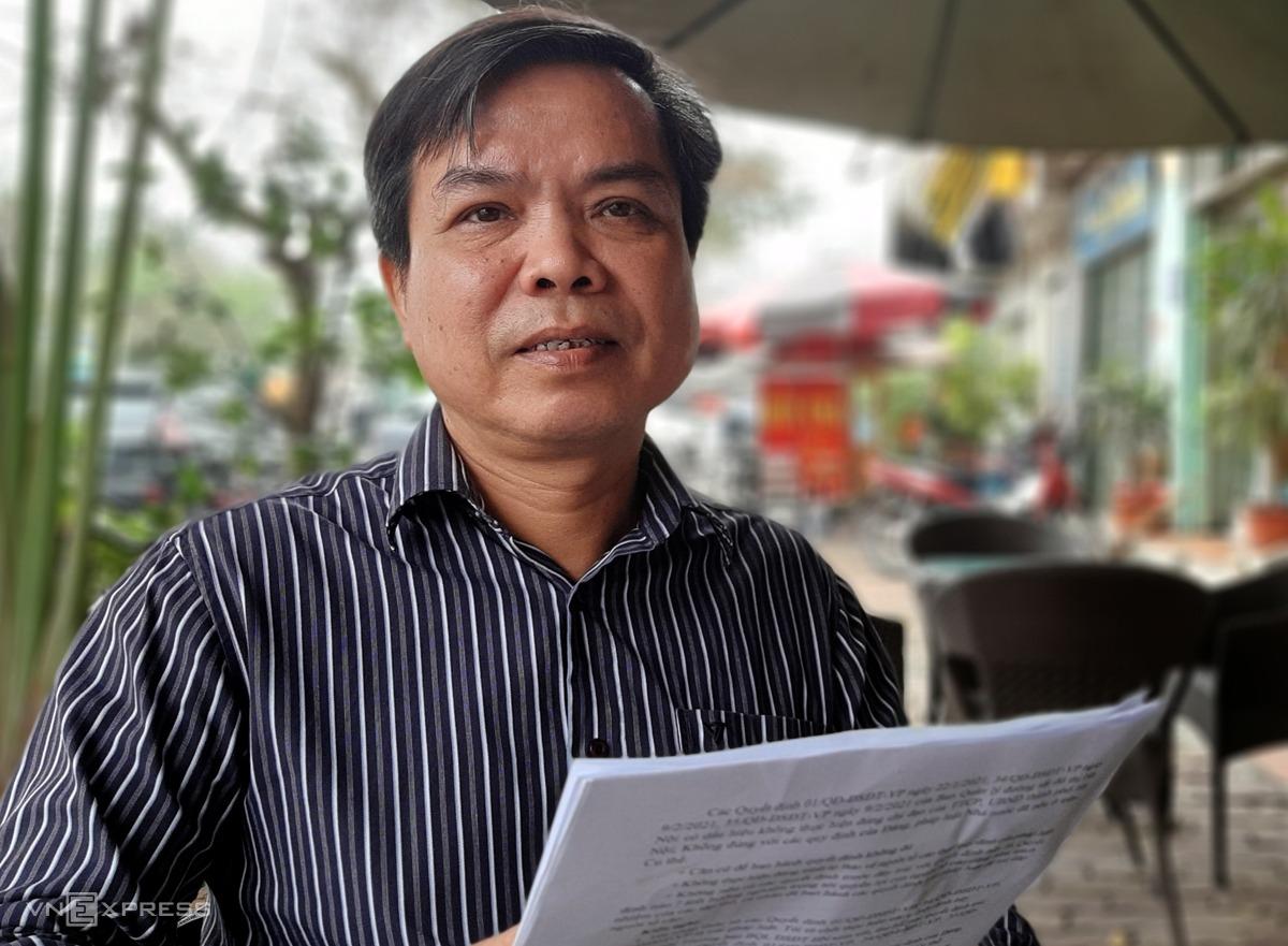 Ông Lương Xuân Bình, nguyên Phó ban quản lý đường sắt đô thị TP Hà Nội. Ảnh: Bá Đô