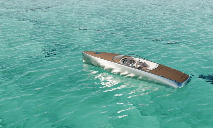 Thiết kế tàu Sarvo 37 với vỏ nhôm và sàn gỗ. Ảnh: Sarvo Marine.