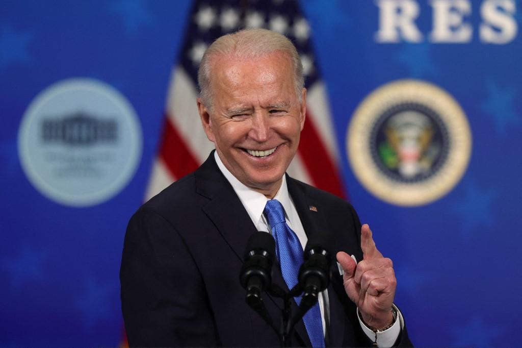 Tổng thống Mỹ Joe Biden trong một sự kiện ở thủ đô Washington hôm 10/3. Ảnh: AFP
