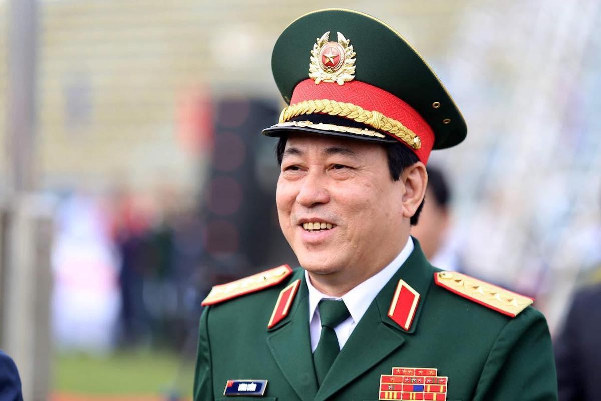 Đại tướng Lương Cường. Ảnh: Gia Chính