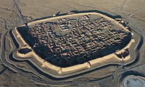 Pháo đài 400 năm tuổi giữa sa mạc