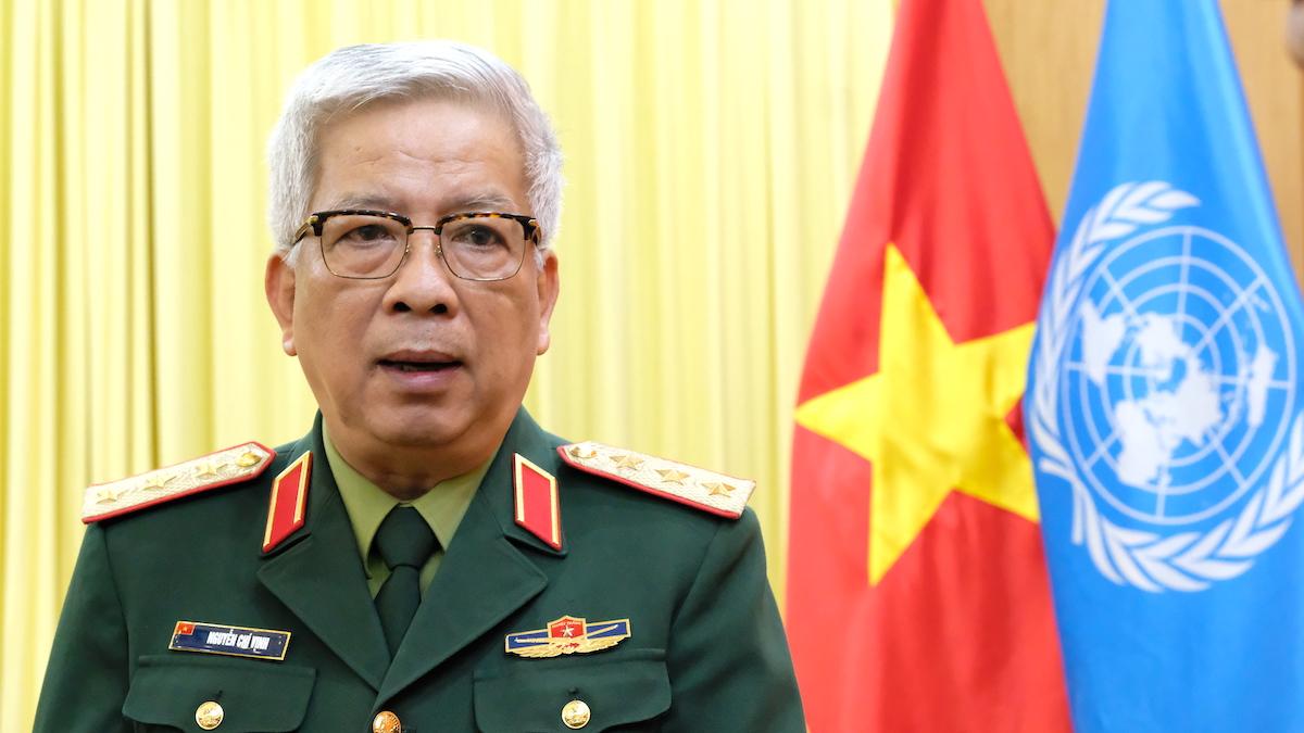 Thượng tướng Nguyễn Chí Vịnh, Thứ trưởng Quốc phòng. Ảnh: Hoàng Thùy