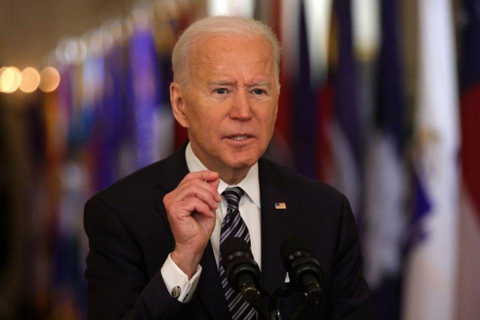 Tổng thống Biden tại Nhà Trắng ngày 11/3. Ảnh: AFP.