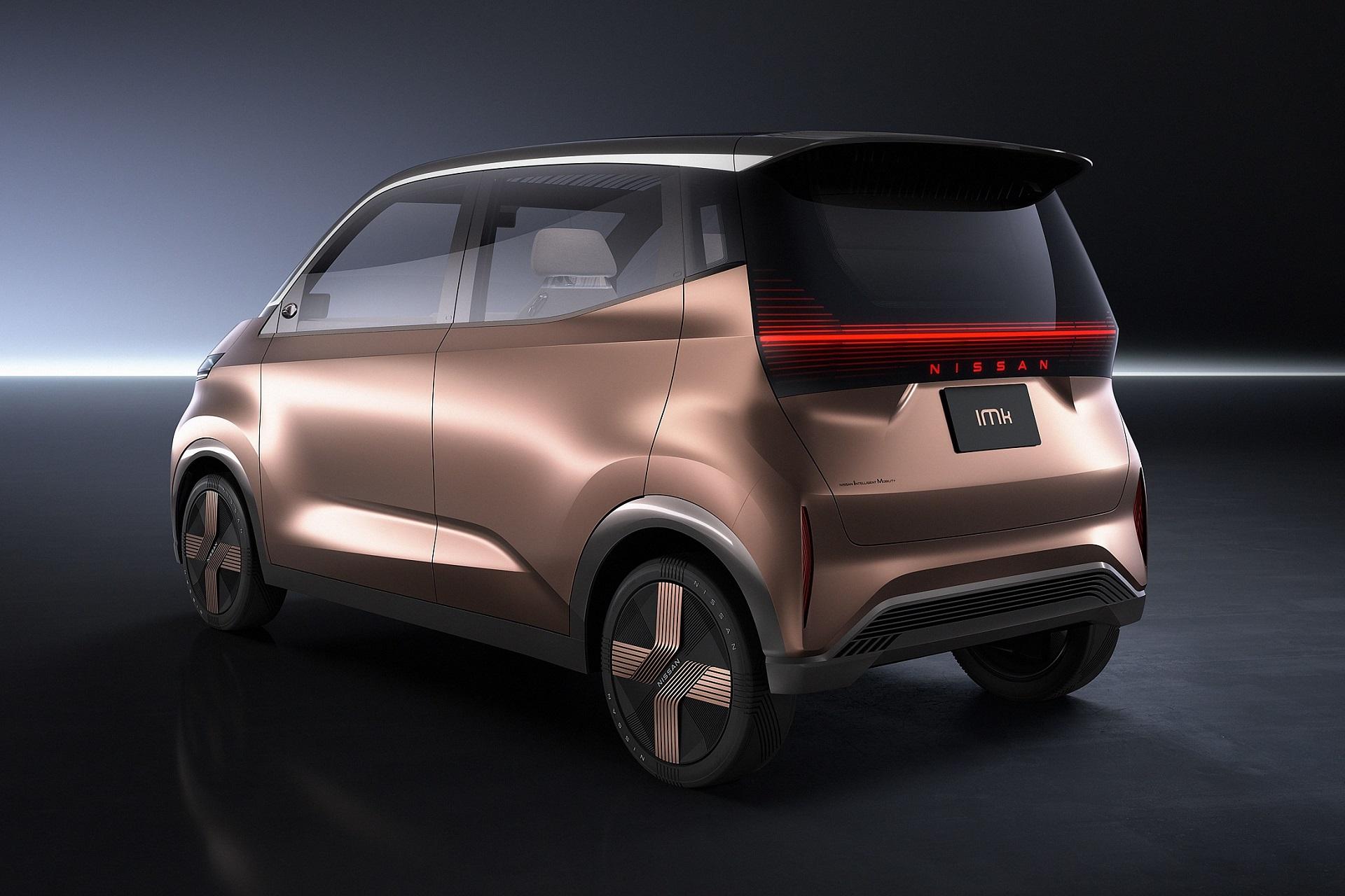 Một mẫu xe điện giá rẻ của Nissan. Ảnh: Nissan