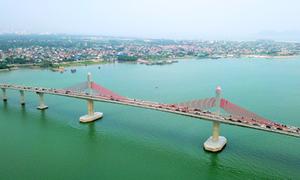 Thông xe cầu 950 tỷ nối Nghệ An - Hà Tĩnh
