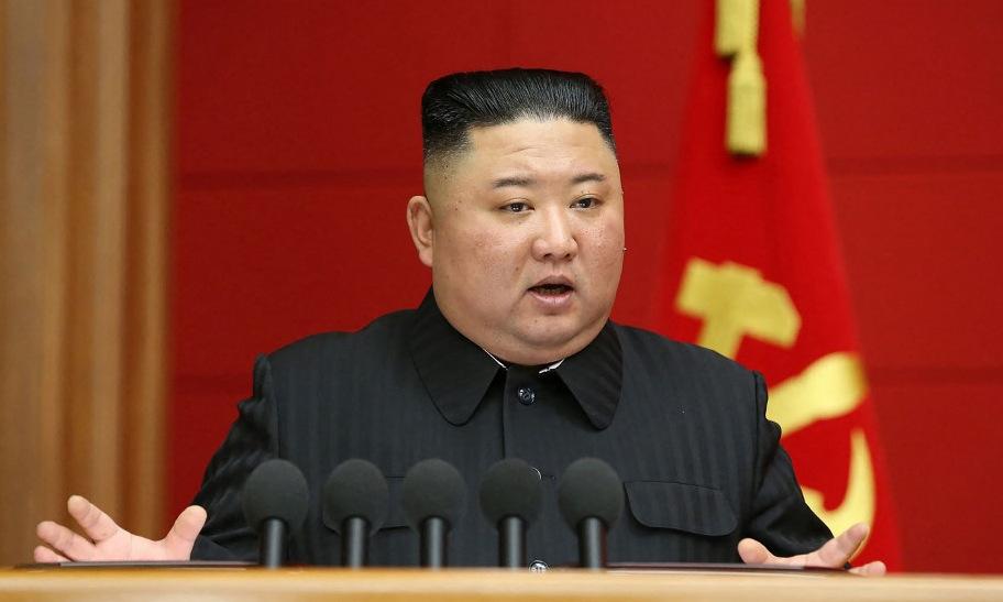 Kim Jong-un trong một cuộc họp tại Bình Nhưỡng hôm 6/3. Ảnh: KCNA.