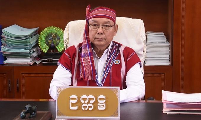 Mahn Win Khaing Than, người mới được NLD bổ nhiệm làm quyền phó tổng thống. Ảnh: MNA.