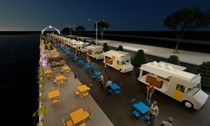 Thiết kế phố ẩm thực đêm ven biển Nha Trang