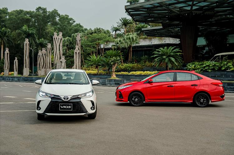 Toyota Vios phiên bản mới.