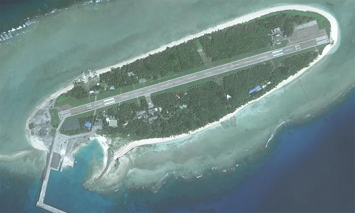 Đảo Ba Bình thuộc quần đảo Trường Sa của Việt Nam. Ảnh: CSIS.